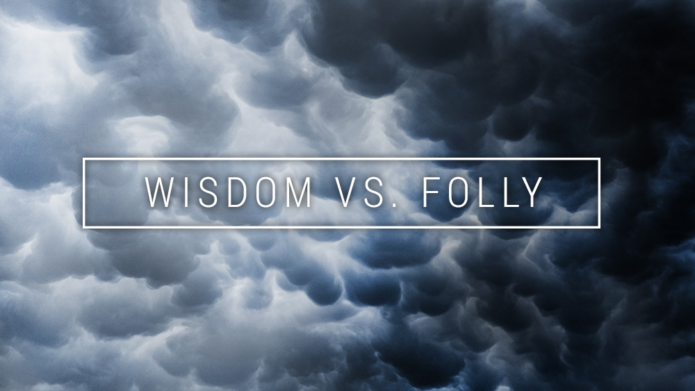 Wisdom vs. Folly